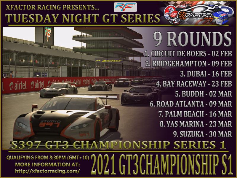GT3 2021 Series 1